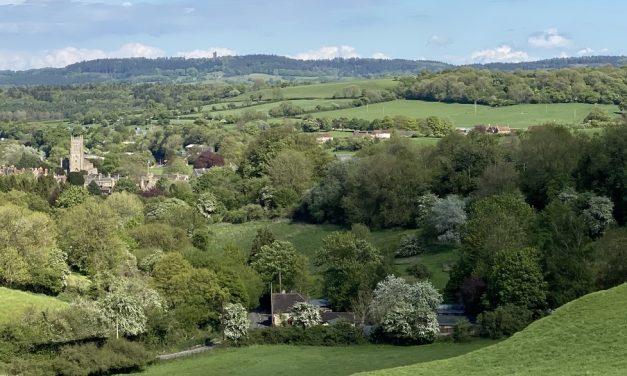 Creech hill via Brickhill and Huish Lane (Set 1 No 3)